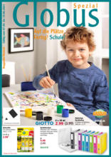Globus: Sonderfaltblatt Schulanfangsmagazin