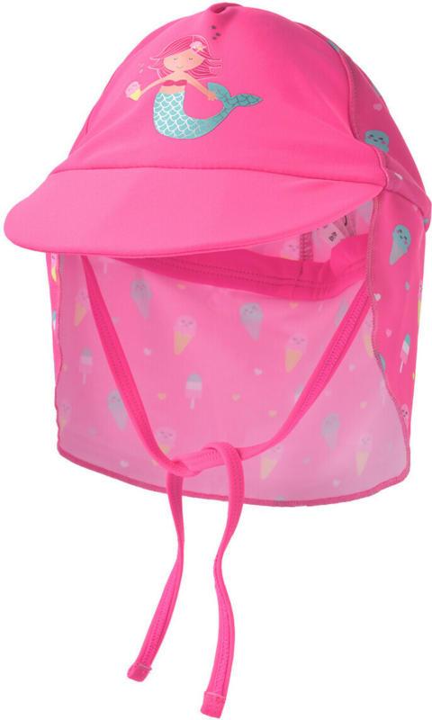 Baby UV-Kappe mit Meerjungfrau-Motiv (Nur online)