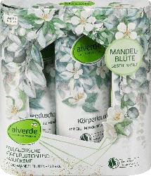 alverde NATURKOSMETIK Geschenkset Mandelblüte 3tlg.