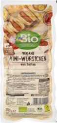 dmBio Vegane Mini-Würstchen aus Seitan
