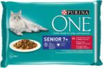 QUALIPET Purina ONE Senior Boeuf 4x85g