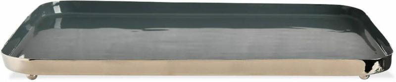Tablett 20x30cm, graublau