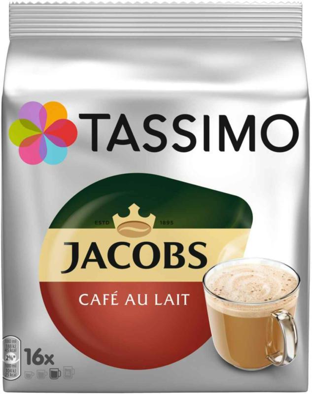 Tassimo Jacobs Café au Lait 16 Kapseln 184 g -