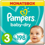 OTTO'S Pampers Baby-Dry Gr. 3, Monatsbox, 198 Windeln -