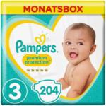 OTTO'S Pampers t. 3 Premium Protection midi 6-10 kg conf. mensile 204 pezzi -