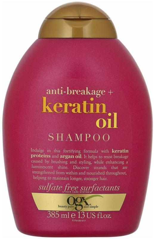 OGX Shampooing Anti Breakage Keratin Oil 385 ml -
