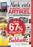 Möbel Debbeler Debbeler Abverkauf - bis 05.07.2021