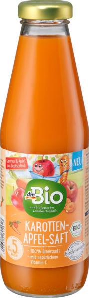 dmBio Karotten-Apfelsaft ab dem 5. Monat , Demeter