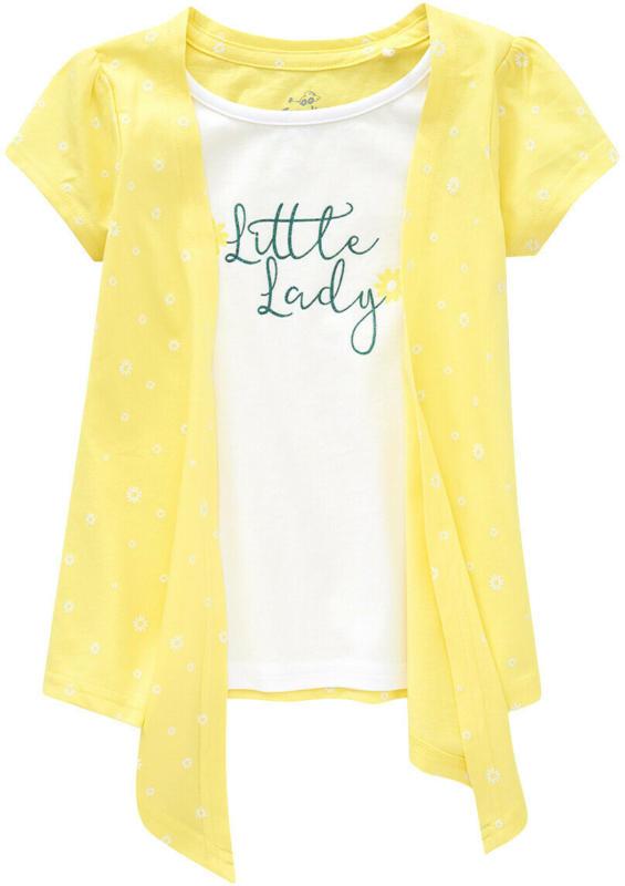 Mädchen T-Shirt in Layer-Optik (Nur online)