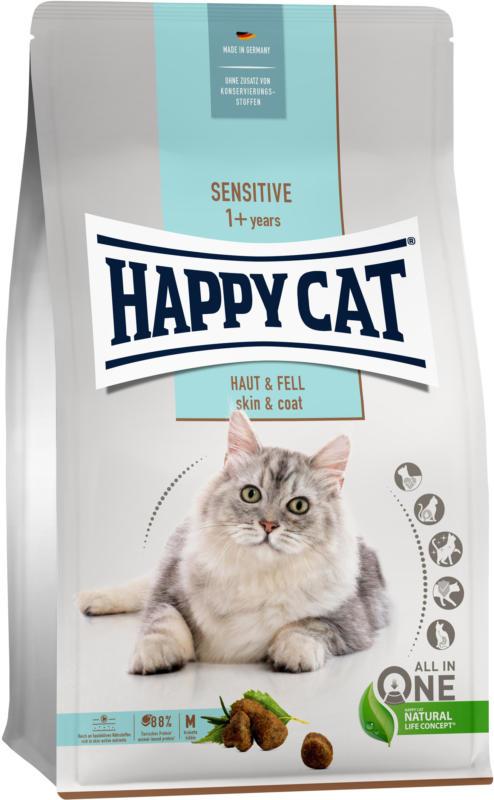 Happy Cat Trockenfutter Sensitive Haut & Fell 1.3kg