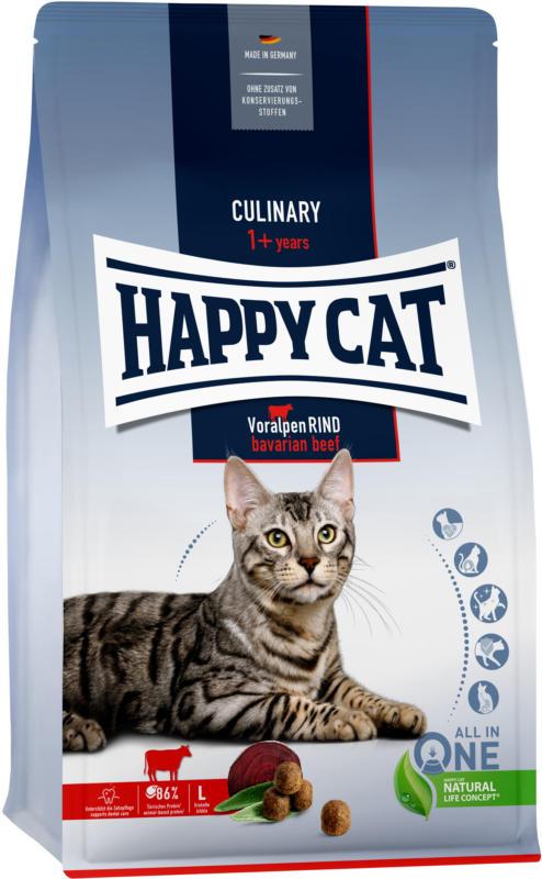 Happy Cat Croquettes Culinary Boeuf des Préalpes 1,3kg