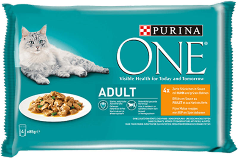 Purina ONE Adult in Sauce Huhn 6x12x85g