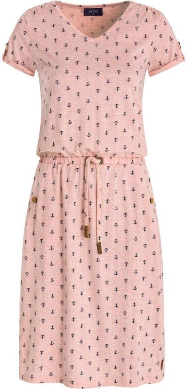Damen Kleid mit Anker allover (Nur online)