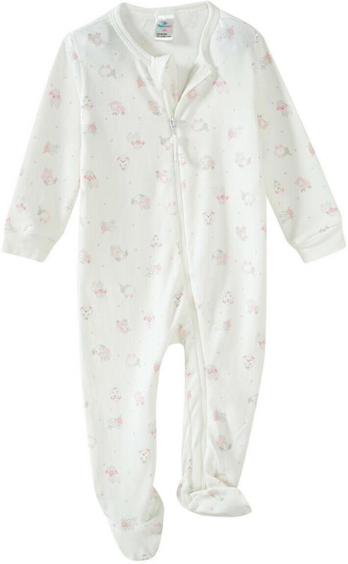 Newborn Schlafanzug mit Schaf-Allover (Nur online)