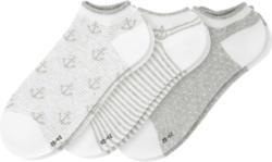 3 Paar Damen Sneaker-Socken mit Effektgarn (Nur online)