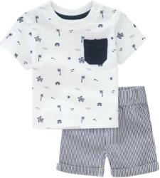 Newborn T-Shirt und Shorts im Set (Nur online)