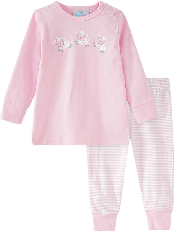 Baby Schlafanzug mit Schaf-Motiven (Nur online)