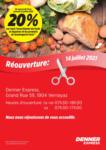 Denner Réouverture - bis 24.07.2021