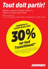 Liquidation: 30% sur tout l'assortiment!