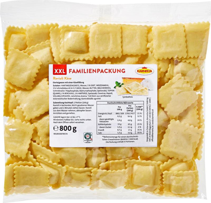 Raviolis aux fromages Karnerta, 800 g