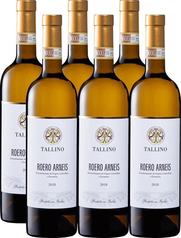 Tallino Roero Arneis DOCG, 2020, Piemonte, Italia, 6 x 75 cl