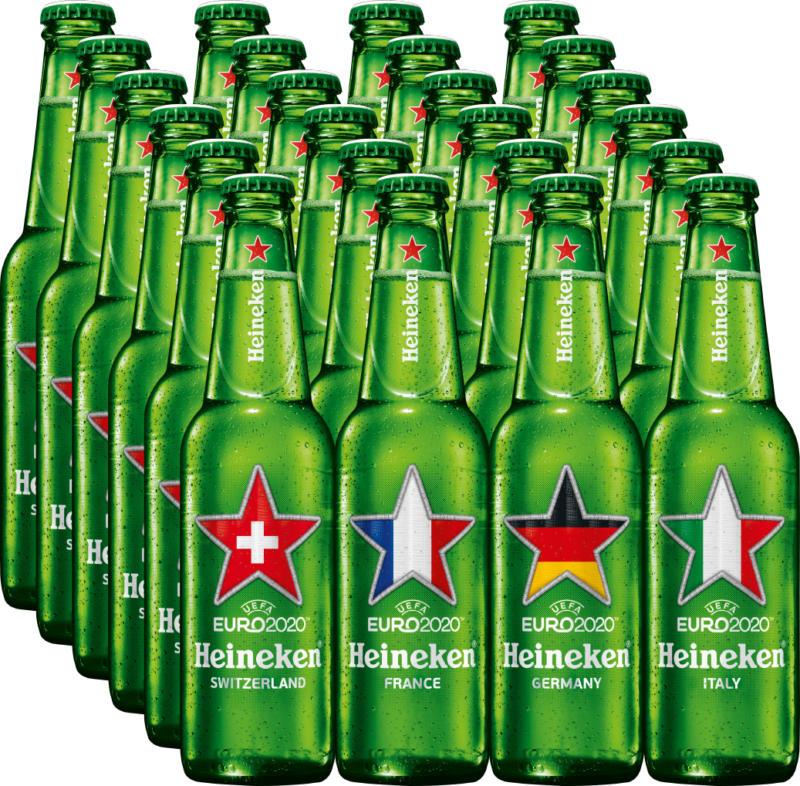 Bière Premium Heineken, 24 x 25 cl