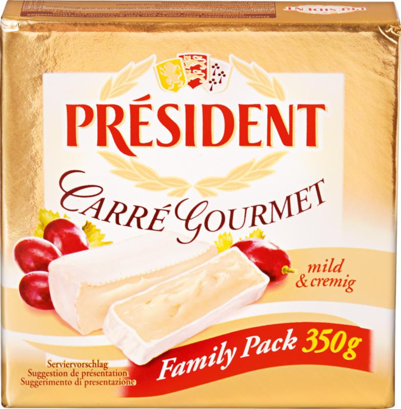 Formaggio a pasta molle Carré Gourmet Président, 350 g