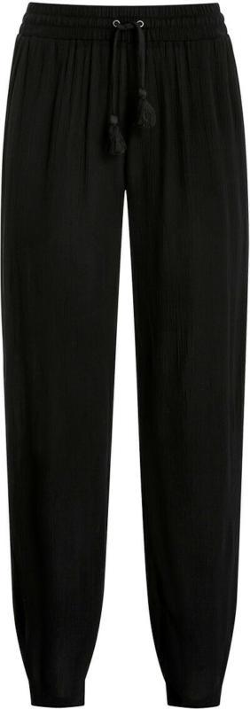Damen Jogpants in Crepp-Optik (Nur online)