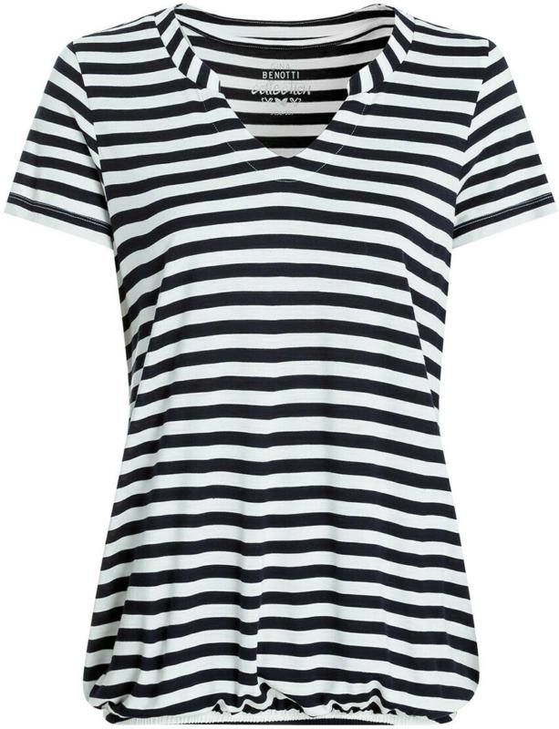 Damen T-Shirt im Streifen-Dessin (Nur online)