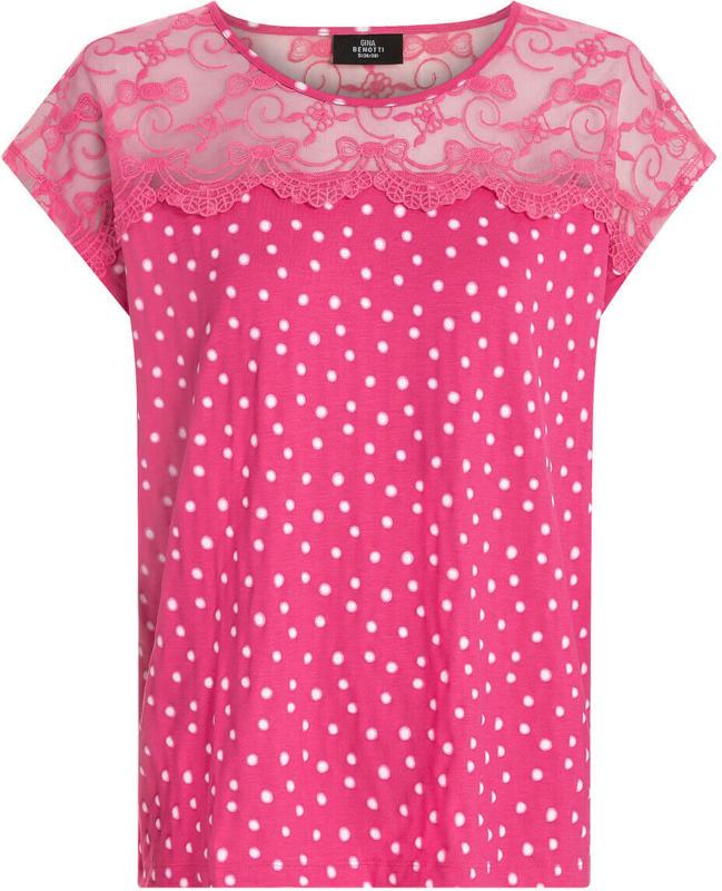 Damen T-Shirt mit Spitze (Nur online)