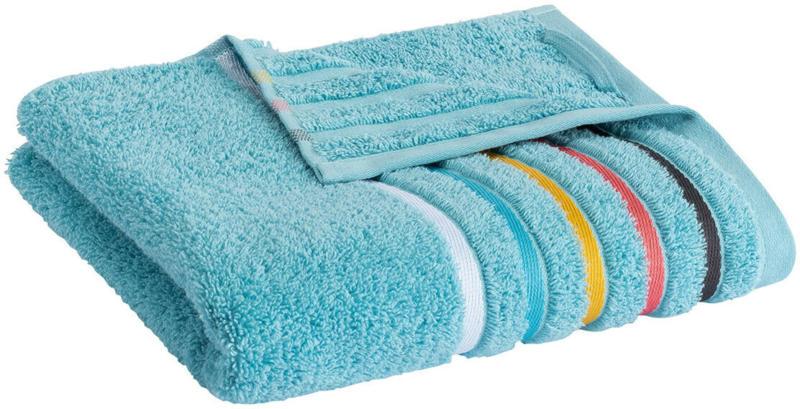 Handtuch mit Streifenbordüre (Nur online)