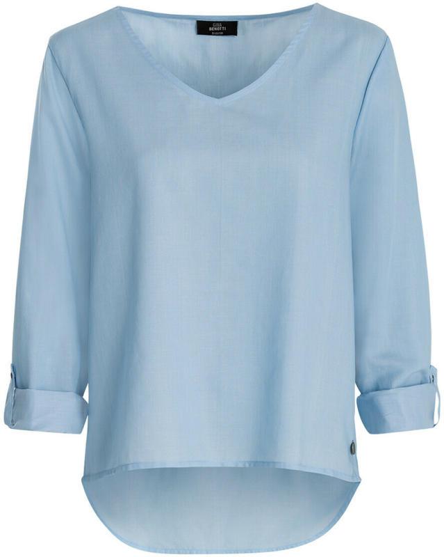 Damen Bluse mit V-Ausschnitt (Nur online)