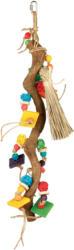 Trixie Holzspielzeug für Vögel mit Weidenbällen 56cm