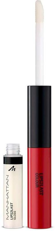 MANHATTAN Cosmetics Lipgloss Lips 2 Last Colour & Lipgloss 45A