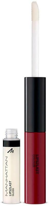 MANHATTAN Cosmetics Lipgloss Lips 2 Last Colour & Lipgloss 48L