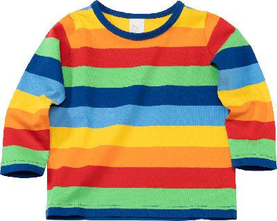 PUSBLU Kinder Langarmshirt, Gr. 98, in Baumwolle, bunt