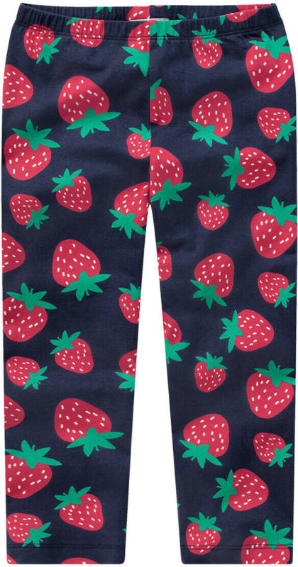 Mädchen Capri-Leggings mit Erdbeer-Motiven (Nur online)