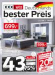 XXXLutz Deutschlands bester Preis - bis 20.06.2021