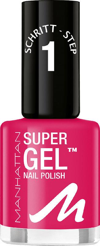 MANHATTAN Cosmetics Nagellack Super Gel Nail Polish Sun Fun Daze 325