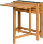 DEPOT FSC 100% Tisch mit Hochbeet ca. 6, natur
