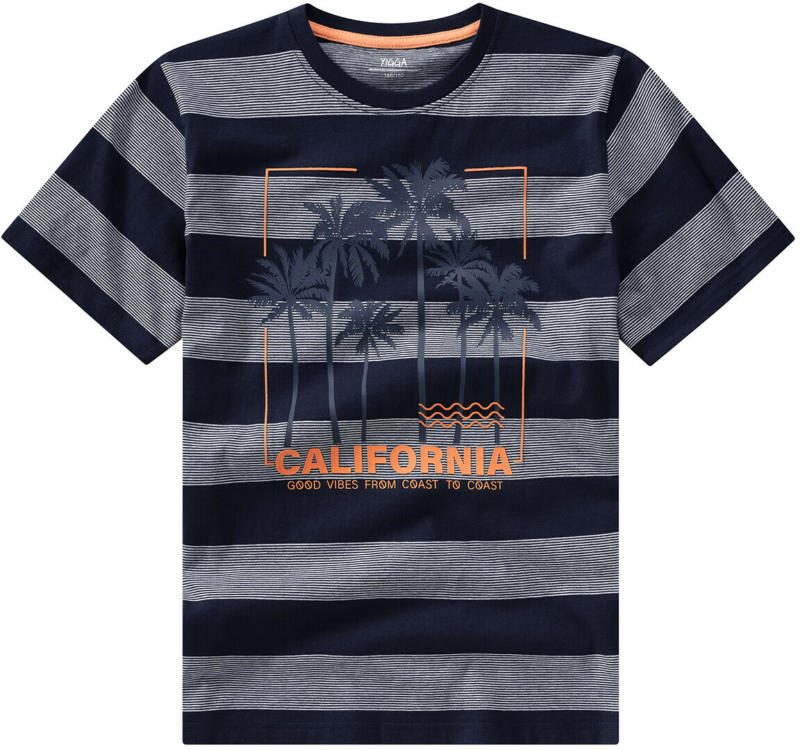 Jungen T-Shirt mit gummiertem Print (Nur online)