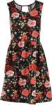 Chicorée Flower Kleid, Black Print