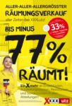 XXXLutz Bludenz - Ihr Möbelhaus in Bludenz XXXLutz Flugblatt - Räumungsverkauf - bis 29.06.2021