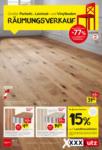 XXXLutz Bludenz - Ihr Möbelhaus in Bludenz XXXLutz Flugblatt - Räumungsverkauf - bis 03.07.2021