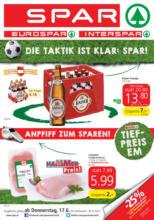 SPAR Flugblatt Oberösterreich