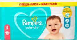 Pannolini Baby-Dry Pampers, Misura 4 (Maxi), 9-14 kg, 108 pezzi