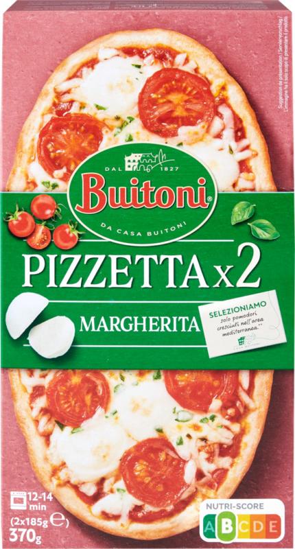 Pizzetta Margherita Buitoni , 2 x 185 g
