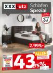 XXXLutz Schlafen Spezial - bis 30.06.2021