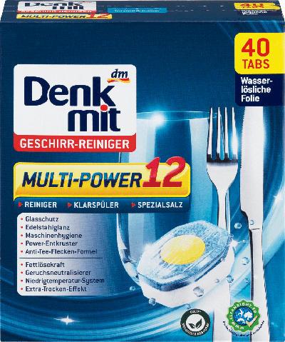 Denkmit Geschirr-Reiniger Multi-Power 12