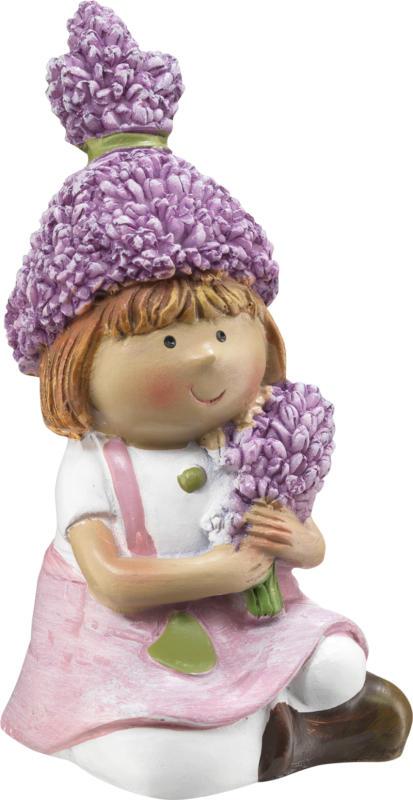 Dekorieren & Einrichten Figur Lavendelkind Mädchen
